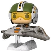 Star Wars - Wedge Antilles with Snowspeeder US Exclusive Pop! Deluxe | Pop Vinyl