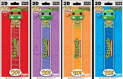 Teenage Mutant Ninja Turtles - 3D Bookmark Assortment | Miscellaneous
