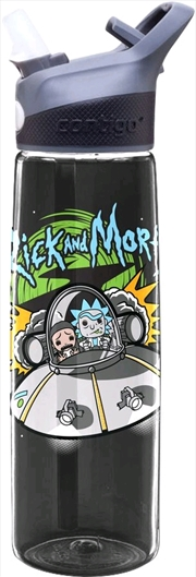 Rick and Morty - Spaceship Acrylic Water Bottle