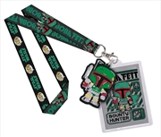 Star Wars - Boba Fett Pop! Lanyard with Backer Card