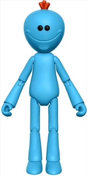 "Rick and Morty - Mr Meeseeks 5"" Articulated Action Figure 