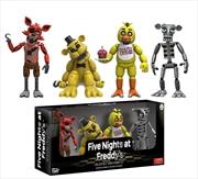 """Five Nights at Freddy's - 2"""" Vinyl Figure 4-Pack #1"""