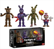 """Five Nights at Freddy's - 2"""" Vinyl Figure 4-Pack #2"""