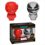 Spider-Man - Venom (Red & White) XS Hikari 2-pack