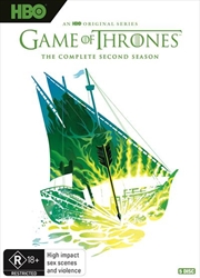 Game Of Thrones - Season 2 - Limited Edition | Robert Ball Artwork