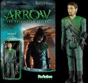 Arrow - Green Arrow Unmasked SDCC 2015 US Exclusive ReAction | Merchandise