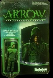 Arrow - John Diggle Arrow US Exclusive ReAction Figure | Merchandise