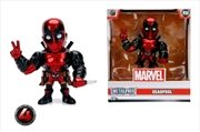"Deadpool - Deadpool Red 4"" Metals"