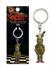 Five Nights At Freddy's - Springtrap Figural Keychain   Accessories