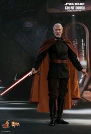 "Star Wars - Count Dooku Episode II Attack of the Clones 12"" 1:6 Scale Action Figure"