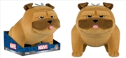"""Inhumans - Lockjaw US Exclusive 12"""" Plush (Tray) [RS]   Toy"""