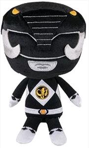 Power Rangers - Black Ranger Hero Plush   Toy