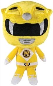 Power Rangers - Yellow Ranger Hero Plush   Toy