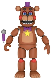 Five Nights at Freddy's: Pizza Sim - Rockstar Freddy Action Figure | Merchandise