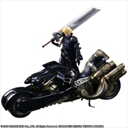 Cloud Strife And Fenrir Play