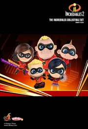 Incredibles 2 - Cosbaby Collectible Set | Merchandise
