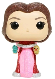 Beauty and the Beast - Belle with Birds Diamond Glitter US Exclusive Pop! Vinyl [RS]