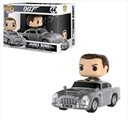James Bond - Sean Connery with Aston Martin DB5 Pop! Ride