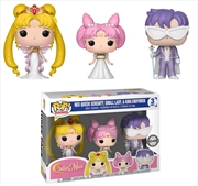 Sailor Moon - Neo Queen Serenity,Small Lady & King Endymion 3-Pack US Exclusive Pop! Vinyl [RS]