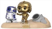 Star Wars - Escape Pod Landing Movie Moments US Exclusive Pop! Vinyl [RS] | Pop Vinyl