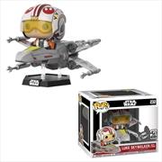 Star Wars - Luke Skywalker with X-Wing Pop! Deluxe [RS] | Pop Vinyl