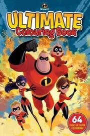 Disney Incredibles 2: Ultimate Colouring Book | Paperback Book