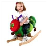 Plush Rocker Caterpillar   Toy