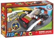 Action Town - 115 Piece Rescue Vehicle Construction Set | Miscellaneous