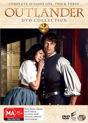 Outlander - Season 1-3 | Boxset | DVD