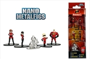 Incredibles - Nano Metalfigs 5-pack | Merchandise