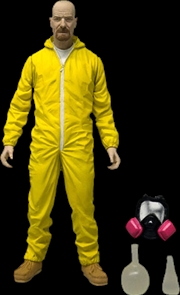 "Breaking Bad - Walter White 6"" Hazmat Action Figure 
