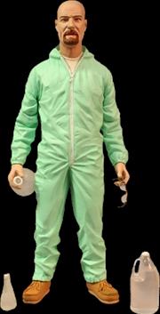 "Breaking Bad - Walter White 6"" Blue Hazmat US Exclusive Action Figure 