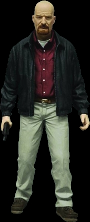 "Breaking Bad - Heisenberg 6"" Figure Red Shirt Exclusive Action Figure 