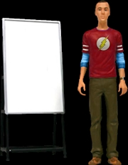 The Big Bang Theory - Sheldon Flash Shirt Action Figure