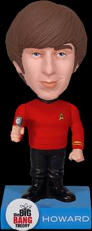 The Big Bang Theory - Howard Star Trek Wacky Wobbler | Merchandise