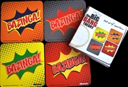 The Big Bang Theory - Bazinga! Coaster Set