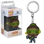 Overwatch - Lucio Pocket Pop! Keychain | Pop Vinyl