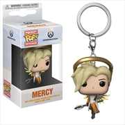 Overwatch - Mercy Pocket Pop! Keychain | Pop Vinyl