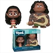 Moana - Maui and Moana Vynl.