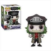 Beetlejuice - Beetlejuice with Guide Hat Pocket Pop! Keychain | Pop Vinyl
