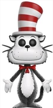 Dr Seuss - Cat in the Hat Flocked US Exclusive Pop! Vinyl | Pop Vinyl