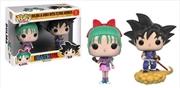 Dragon Ball - Bulma & Goku US Exclusive Pop! Vinyl 2-Pack