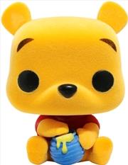 Winnie the Pooh - Seated Pooh Flocked US Exclusive Pop! Vinyl | Pop Vinyl