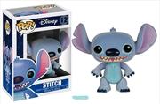 Lilo & Stitch - Stitch Flocked US Exclusive Pop! Vinyl