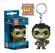 Thor 3: Ragnarok - Hulk Pocket Pop! Keychain | Pop Vinyl