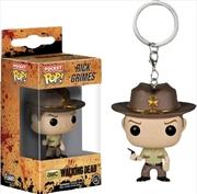 The Walking Dead - Rick Grimes Pocket Pop! Keychain | Pop Vinyl
