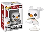 The Nightmare Before Christmas - Zero with Bone US Exclusive Pop! Vinyl | Pop Vinyl