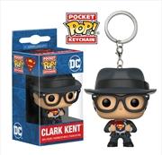 Superman - Clark Kent Pocket Pop! Keychain | Pop Vinyl