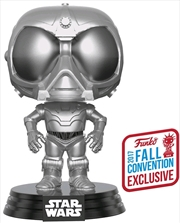 Star Wars: Rogue One - Death Star Droid Chrome NYCC 2017 US Exclusive Pop! Vinyl | Pop Vinyl