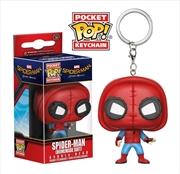 Spider-Man: Homecoming - Spider-Man (Homemade Suit) Pocket Pop! Keychain | Pop Vinyl